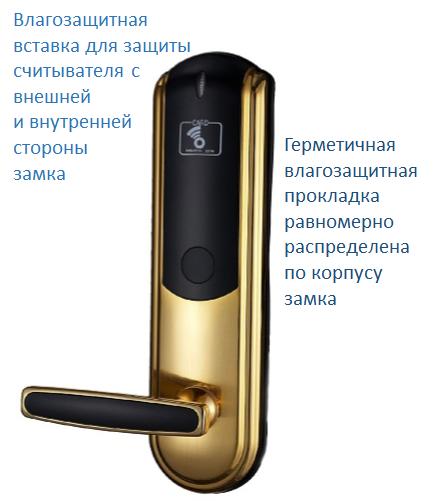 Электромеханический замок на входную дверь