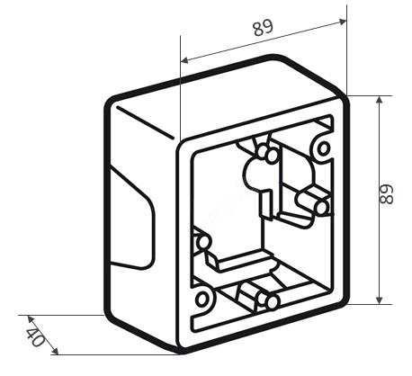 Коробка монтажная